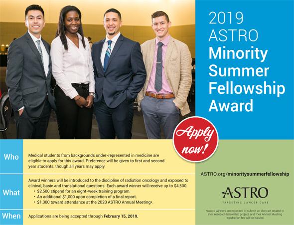 Research - Funding Opportunities - Minority Summer Fellowship Award